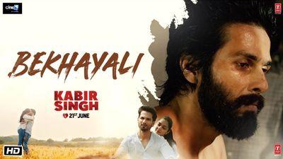Bekhayali Song Lyrics Kabir Singh Wrytin