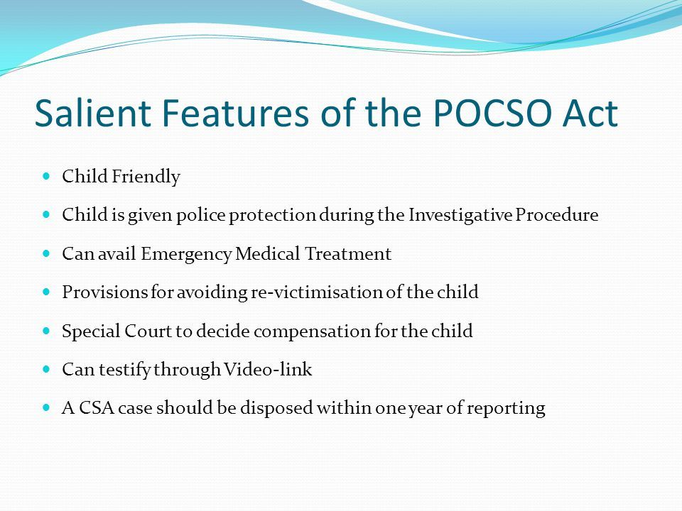 Image result for Features of POCSO act