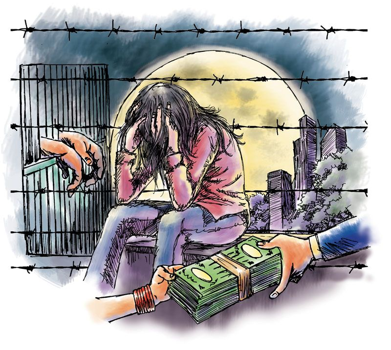 Image result for society role in human trafficking
