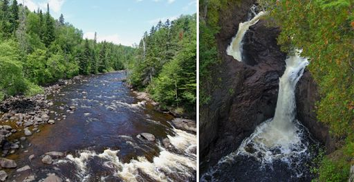 This waterfall mysteriously disappears! Devil's Kettle Falls has ...