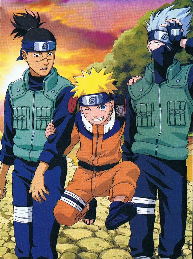 Characters In Naruto Rated: Part I | Wrytin