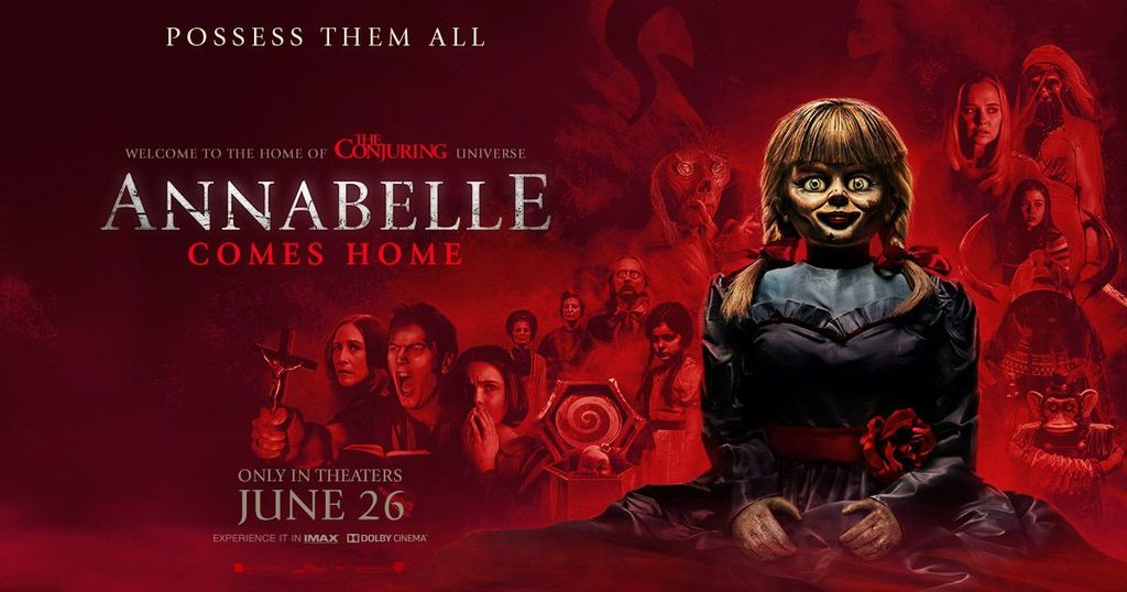 Movie Review of Annabelle Comes Home | Hd movies, Hd movies online