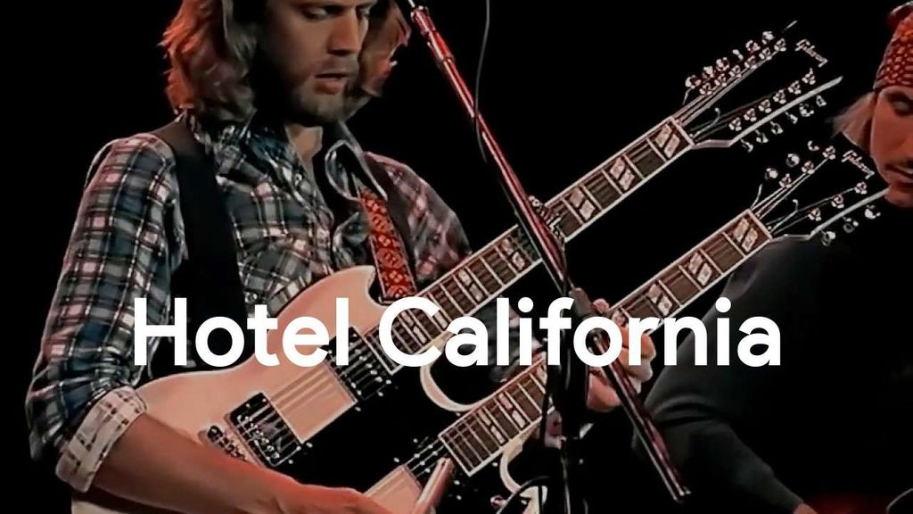 Hotel California Chords - Eagles | Wrytin