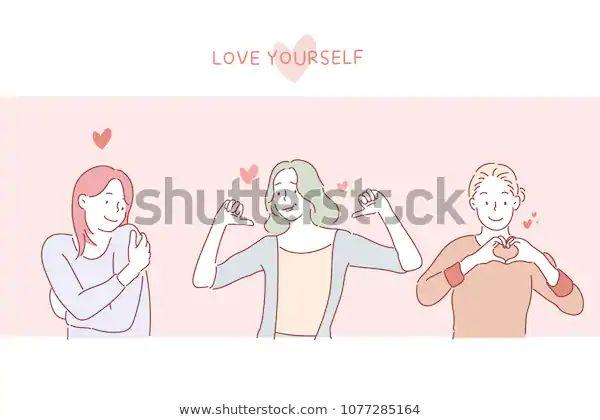 love-yourself-girls-on-postcard-600w-1077285164-k0bhc776