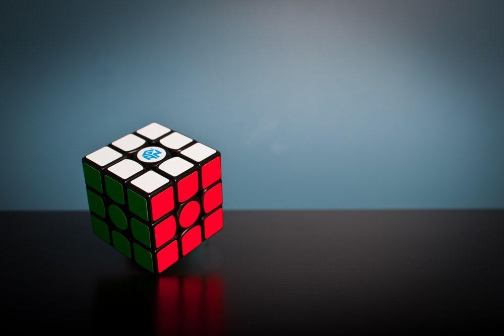 Image result for rubik's cube wallpaper