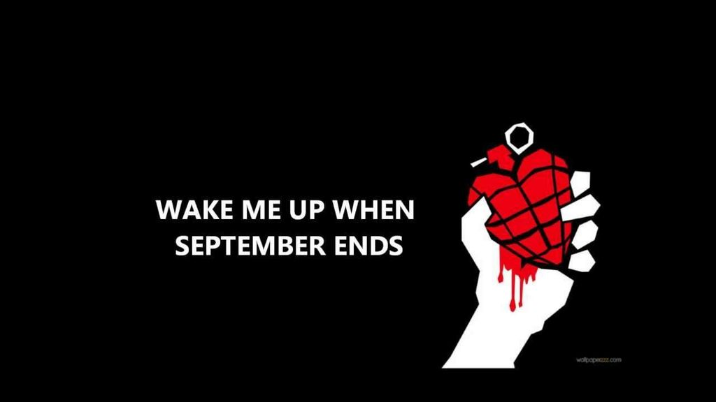 Wake Me Up When September Ends Chords - Green Day   Wrytin